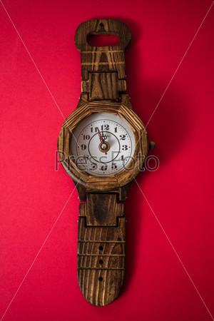 Handmade Wooden Wall Clock