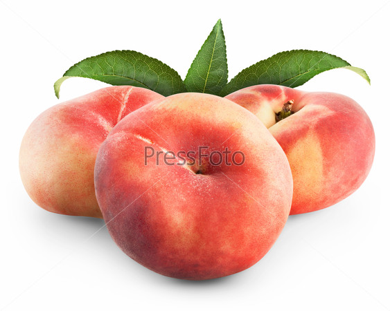 ripe fig peach