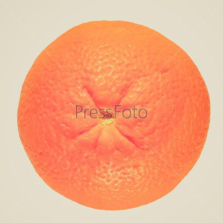 Retro look Orange fruit