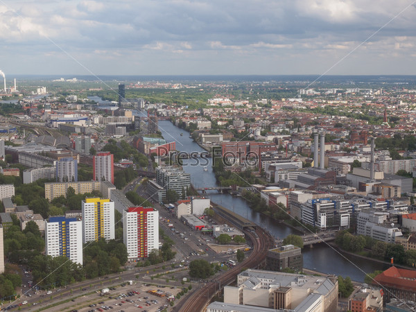 Berlin aerial view