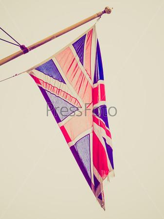 Retro look UK Flag