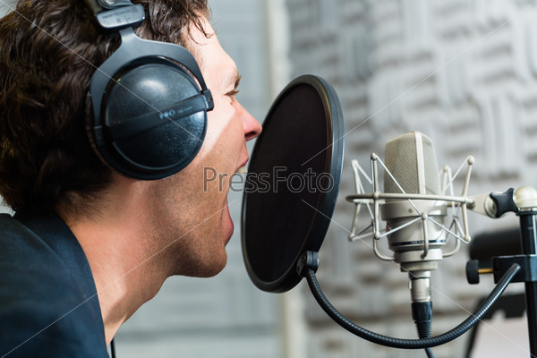 Male Singer or musician for recording in Studio