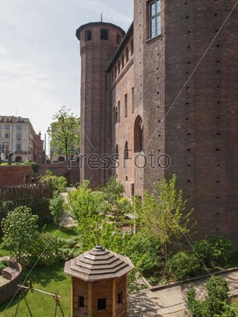 Medieval garden in Turin