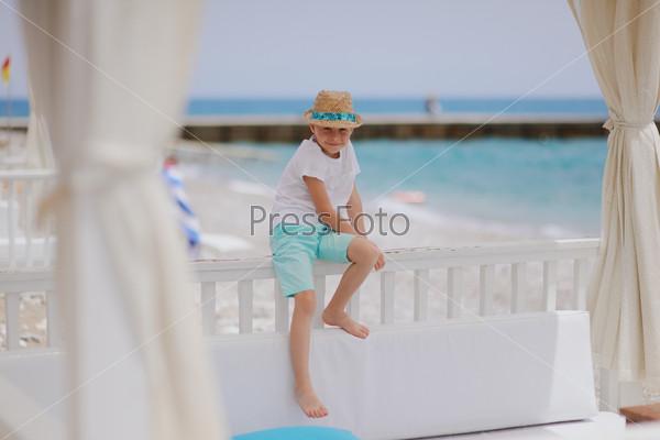 Мальчик на каникулах