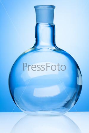 Big glass flask