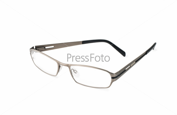 stylish Eye Glasses Isolated on White