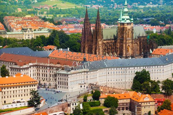 Panorama of Prague Hrad