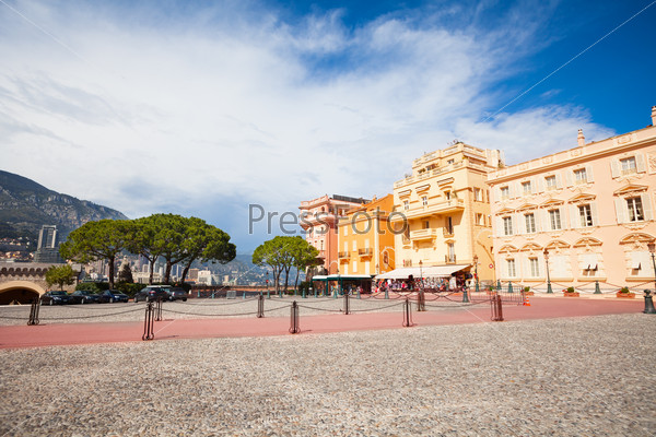 Square in front of prince residence in Monaco