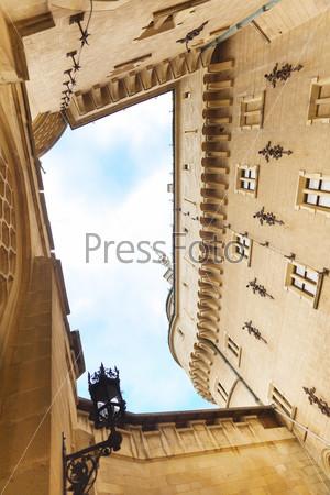 Bojnice castle inner yard
