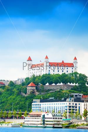 White castle in Bratislava