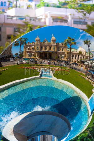 Famous casino monument in Monaco