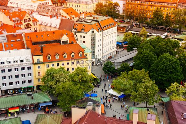 City view of Munich, Bavaria, Germany
