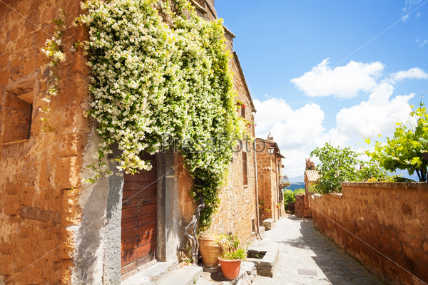 Little streets of Bagnoregio