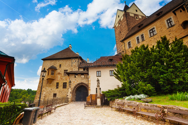 Gates of Loket castle