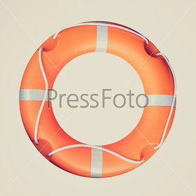 Retro look Life buoy