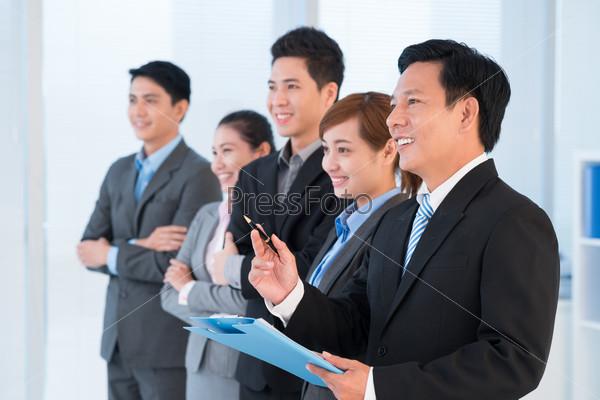 Conducting presentation