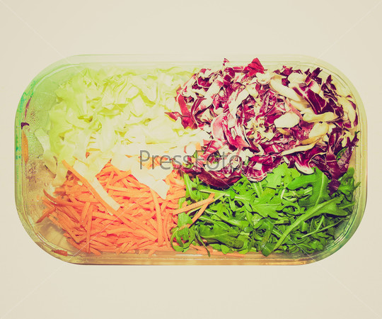 Retro look Salad picture