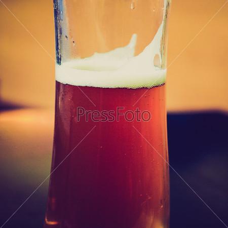 Retro look Beer
