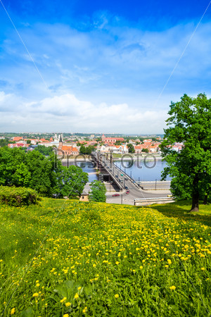 Bridge over Nemunas river in Kaunas