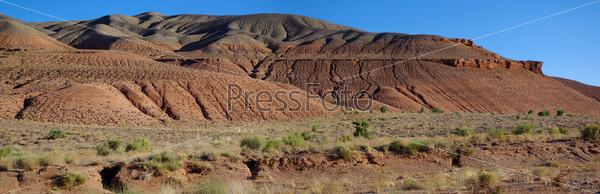 Панорама красных гор