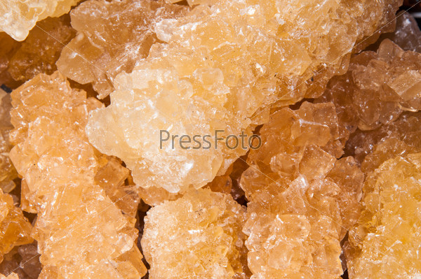 Oriental sweetness of crystal sugar or navat