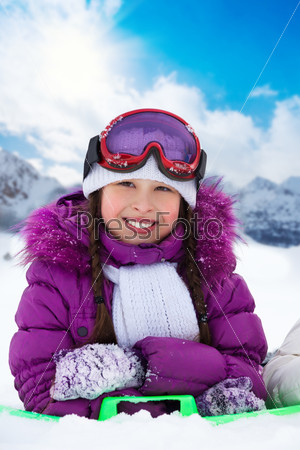 Winter fun for girls