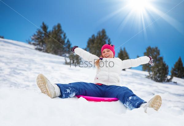 Sled sliding