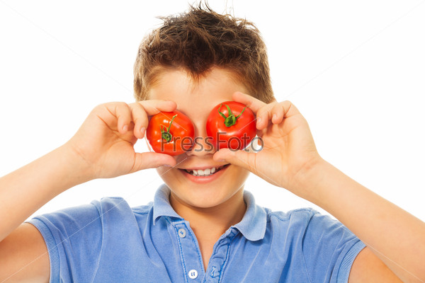 Fun with tomatoes