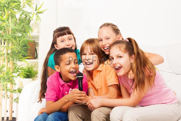 Sing is fun when it is group of kids