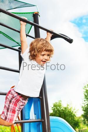 Exercise horizontal bar
