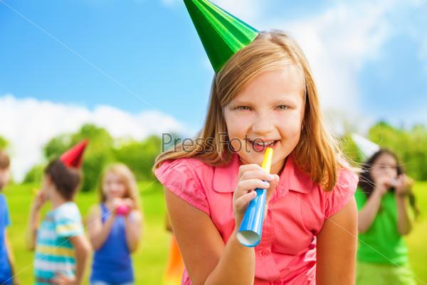 Fun at birthday