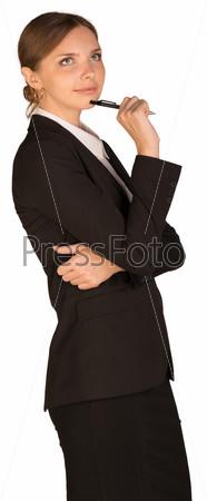 Фото красивых девушек в строгом костюме жгучей знойной