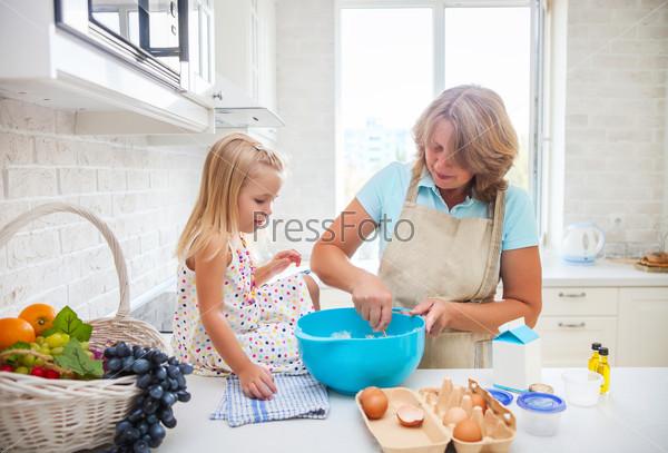 фото куни бабушке