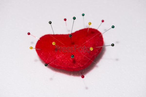 Картинки игольницы в виде сердца