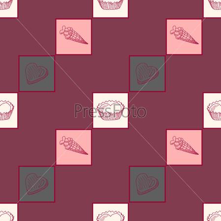 Seamless pattern Dolce vita