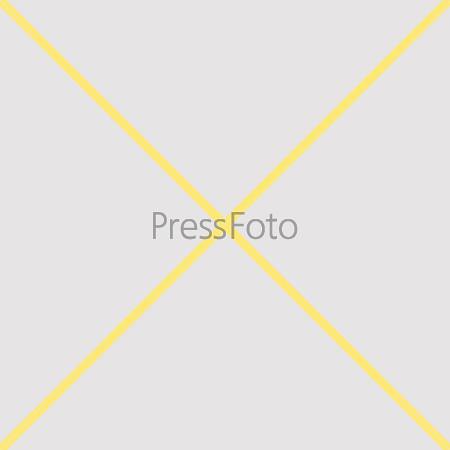 Желтый крест в сером квадрате. Бесшовный орнамент