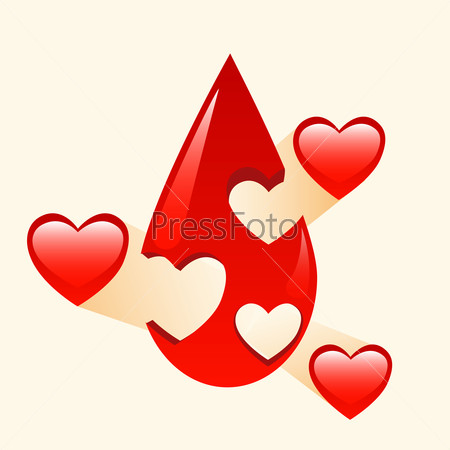 Donation of blood and organs medicine