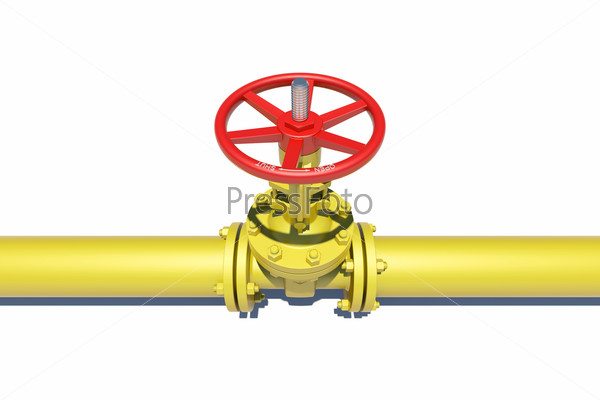 Highly detailed three-dimensional model valves and pipes