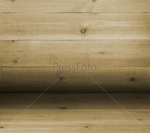 Convex texture nailed wooden railing