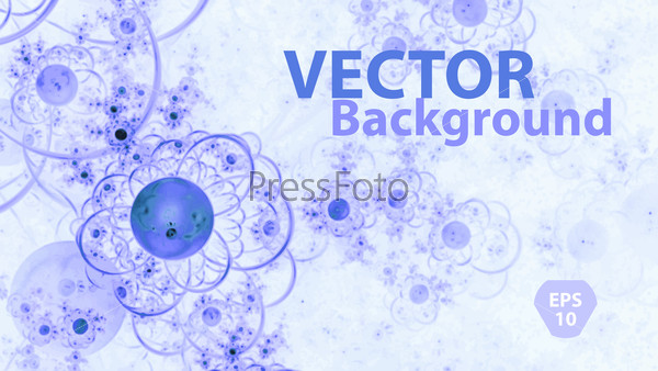 abstract geometric background with icon