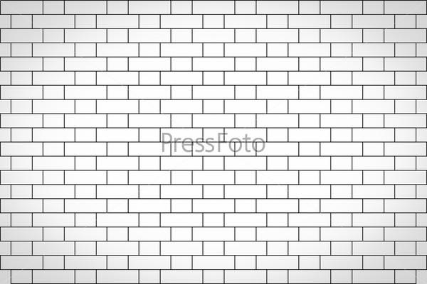 Retro look Brick wall