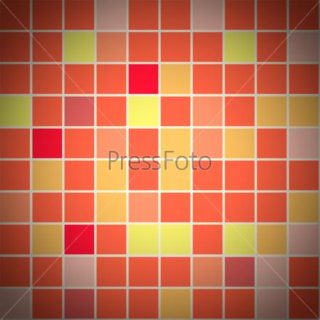Бесшовный фон из разноцветной плитки