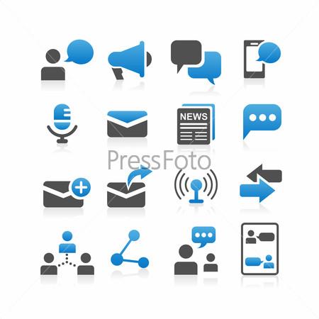 Communication concept icon