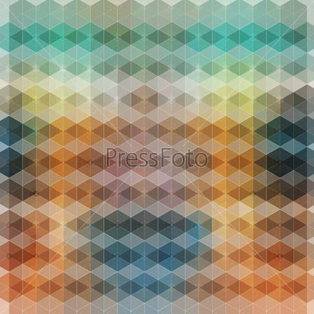 bright abstract background polygons