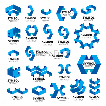 biggest collection of vector logos of geometric modules