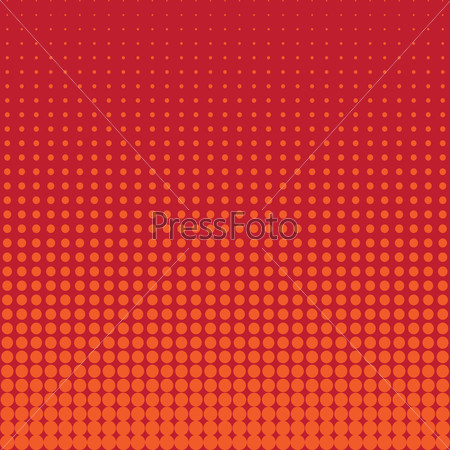 Vector halftone raster abstract background