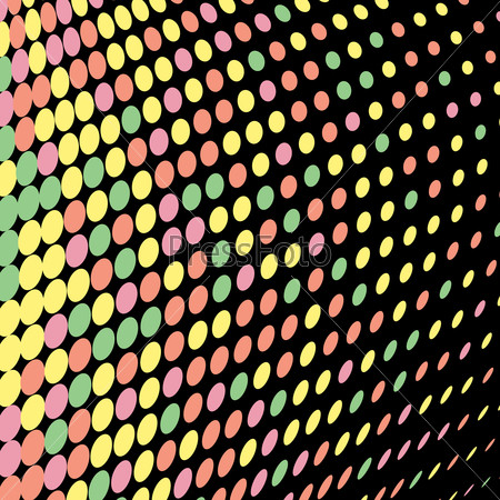 Abstract background colored circles bright holiday