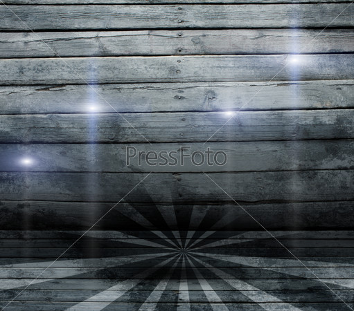 Abstract background is wooden boards and stripes