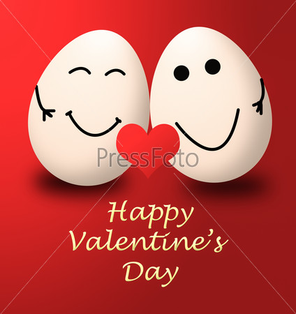 valentines day my egg happy love red heart