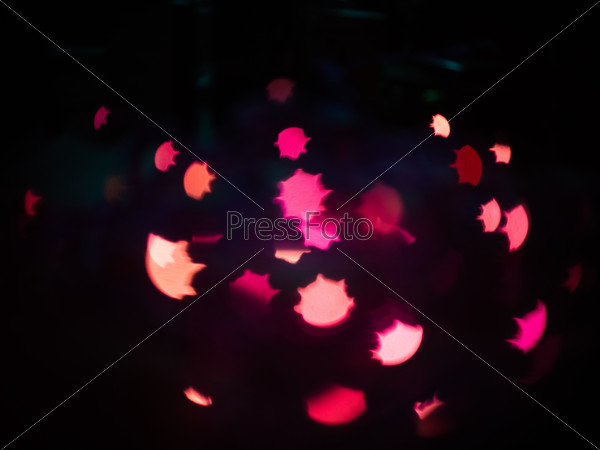 Artistic bokeh background.